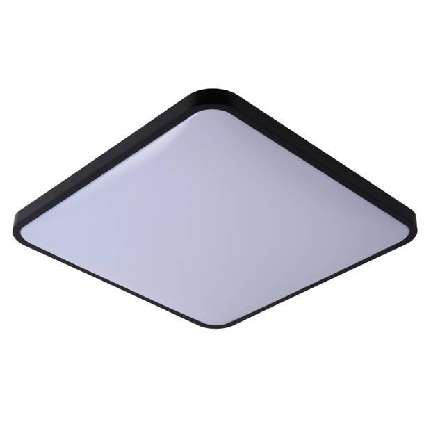 Lucide POLARIS Plafonnière DTW 50W vierkant Zwart