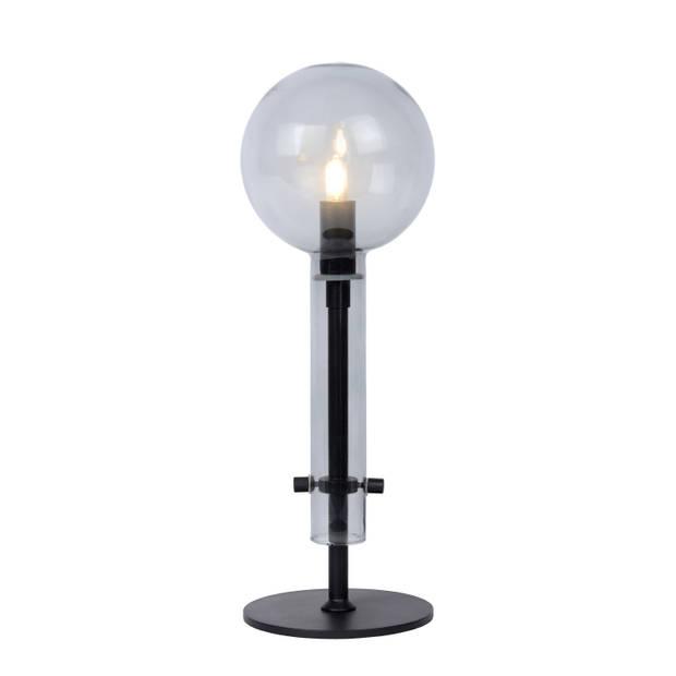 Lucide LONE Tafellamp G9/28W Smoke glas/zwart