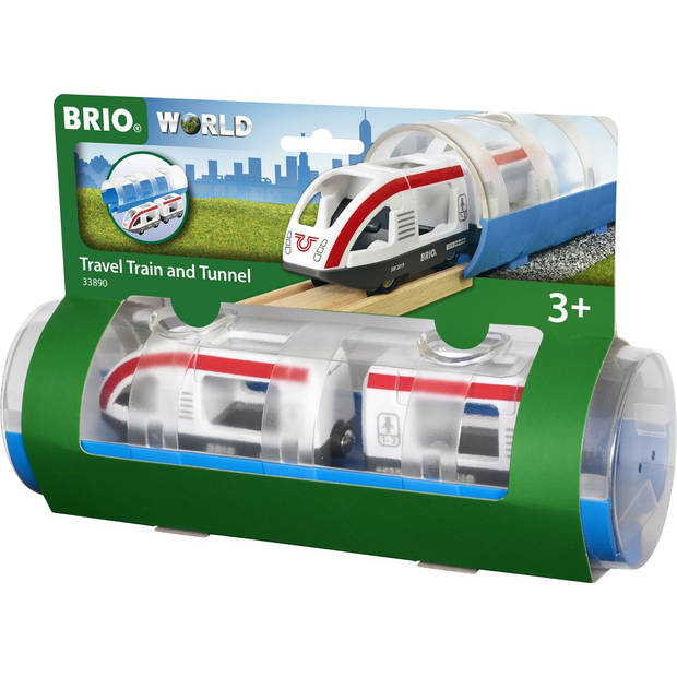 BRIO Tunnel & Travel Train - 33890