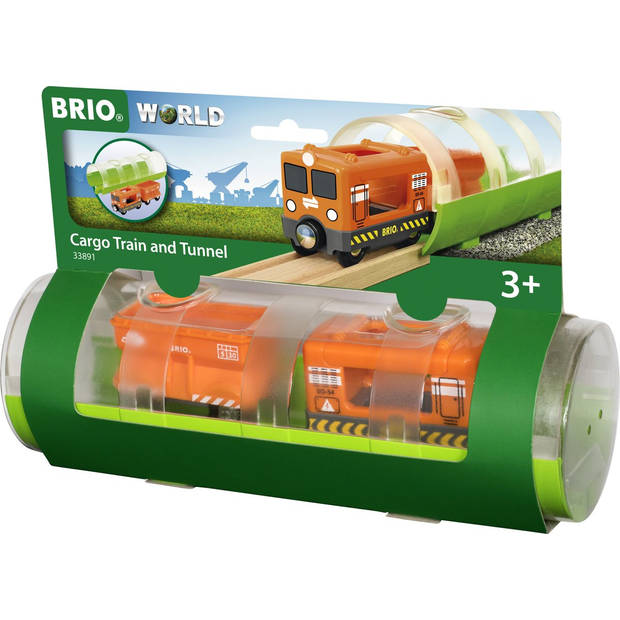 BRIO Tunnel & Cargo Train - 33891