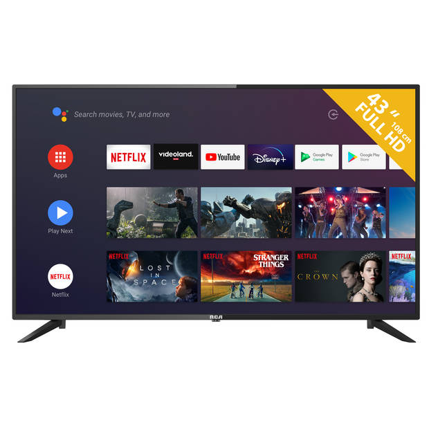RCA RS43F2 ANDROID Smart 43 inch Full HD LED tv