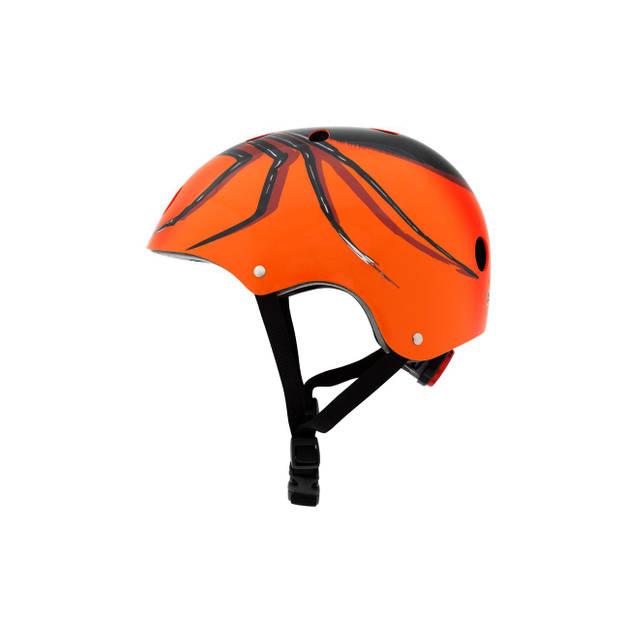 Mini Hornit Lids Fietshelm voor Kinderen - met LED achterlicht - Chiller Spider (M)