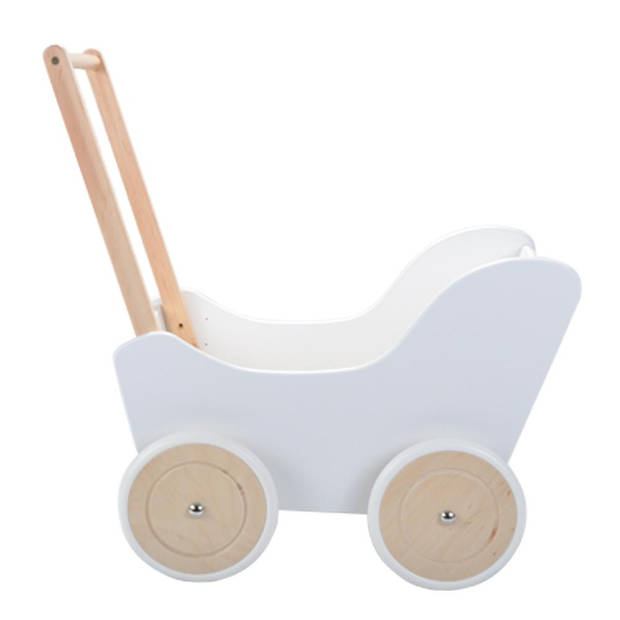 Bandits and Angels - Poppenwagen Little Angel classic white