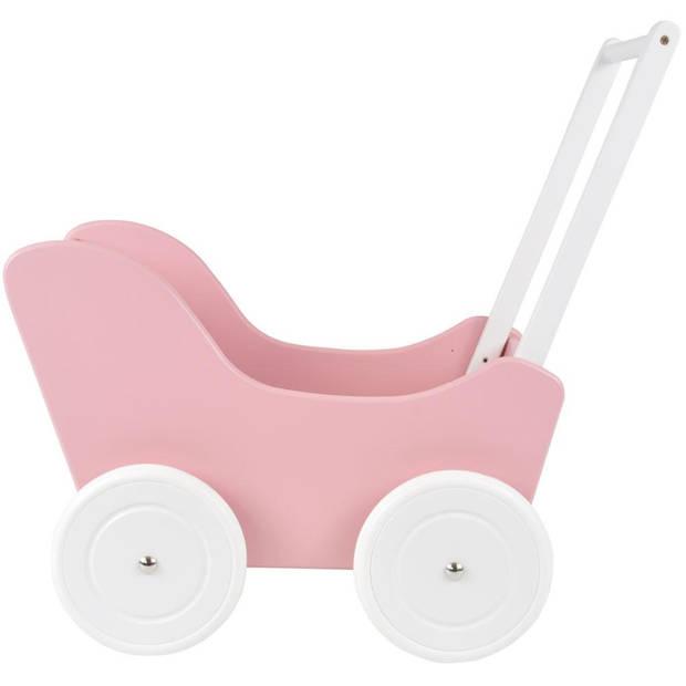 Bandits and Angels - Poppenwagen Little Angel pink