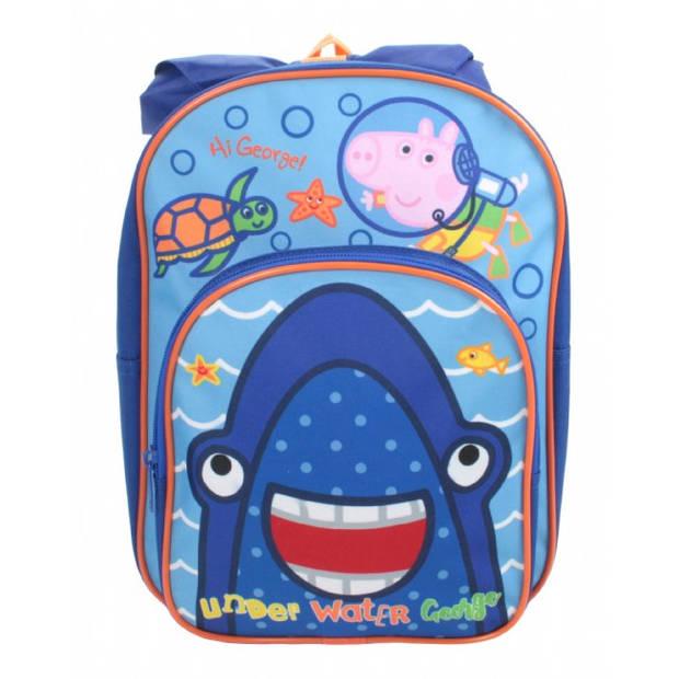 Peppa Pig Erwin rugzak schooltas met voorvak