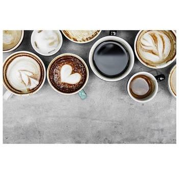 Korting Set Van 2 Placemats, Koffie Kopjes Kela Picture