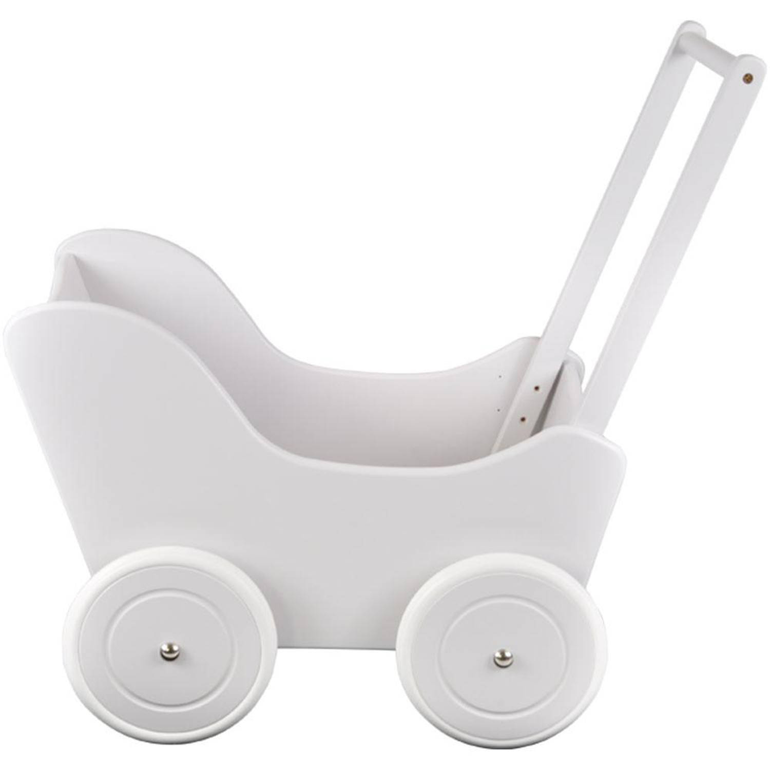 Bandits and Angels Poppenwagen Little Angel special white