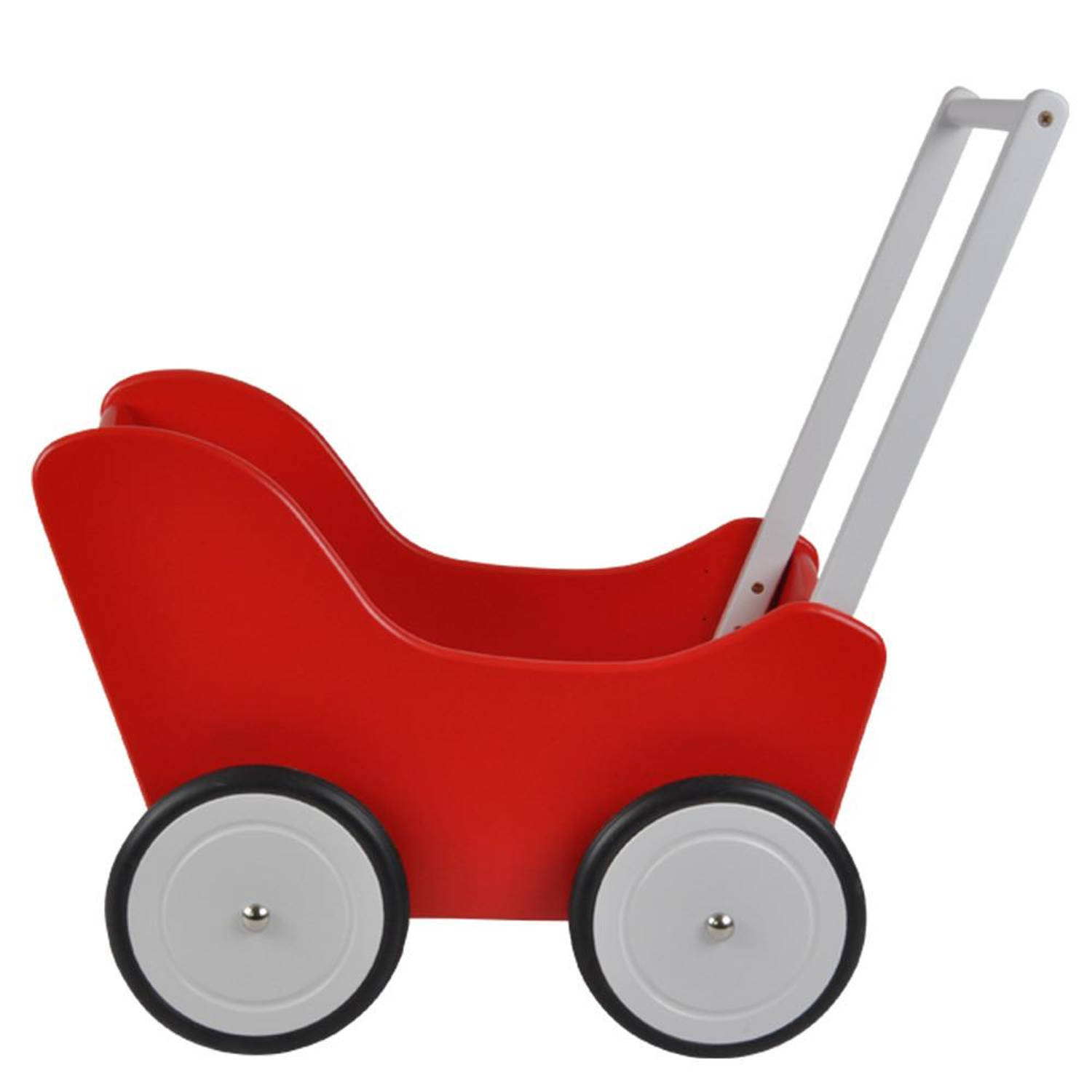 Bandits and Angels Poppenwagen Little Angel red