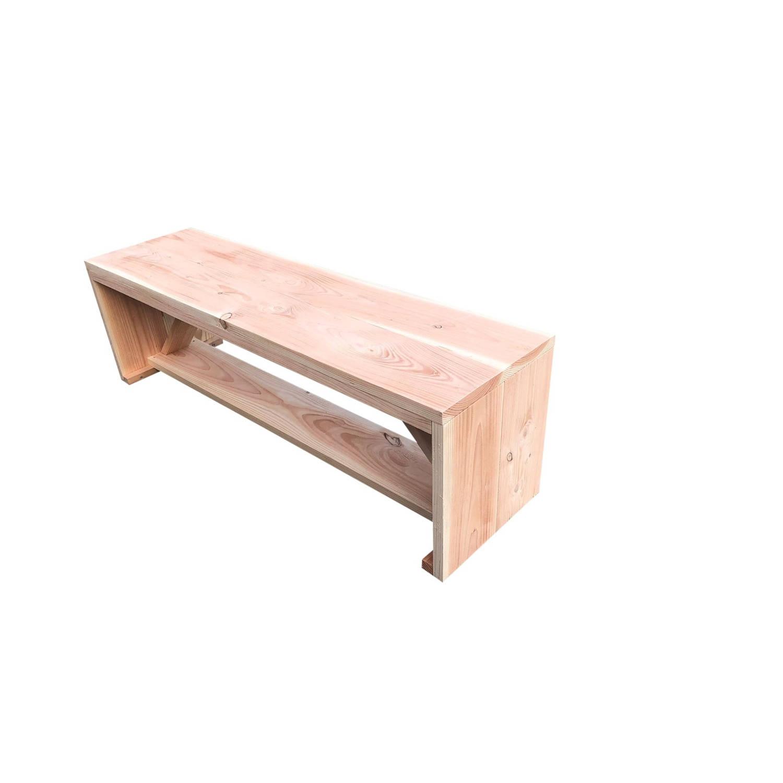 Wood4you - Tuinbank Nick Douglashout 130lx43hx38d Cm