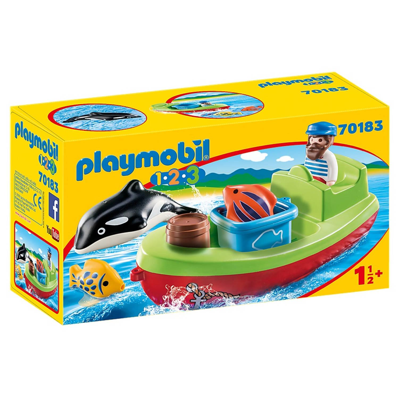 Playmobil 1, 2, 3 - Vissersboot (70183)