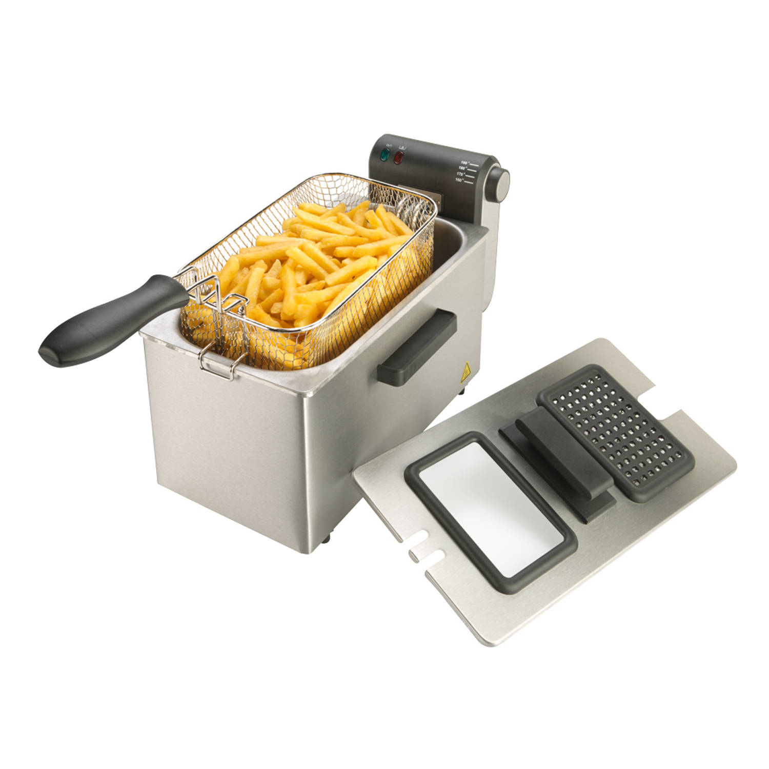 Korting Bourgini friteuse Classic Deep Fryer Plus 3L