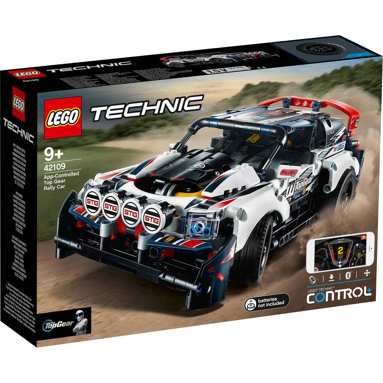 LEGO Technic app controlled Top Gear rally car 42109