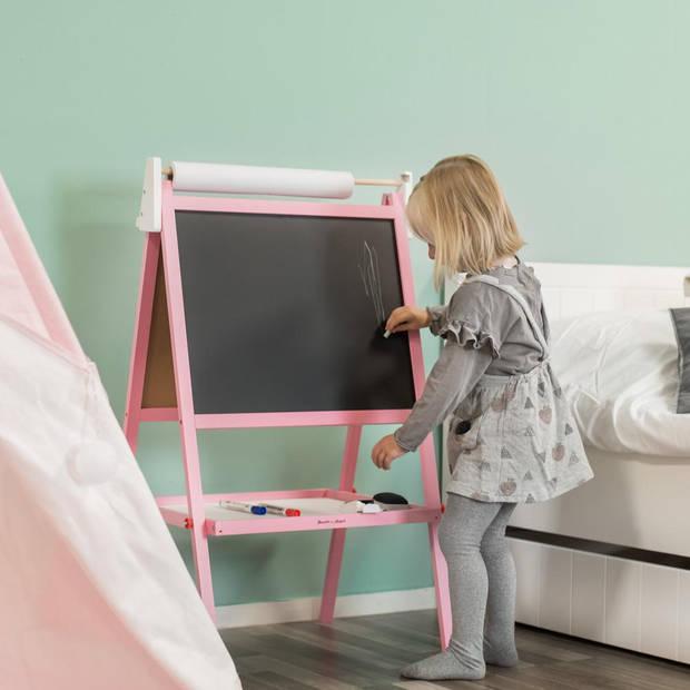 Bandits and Angels - Krijtbord en Whiteboard roze