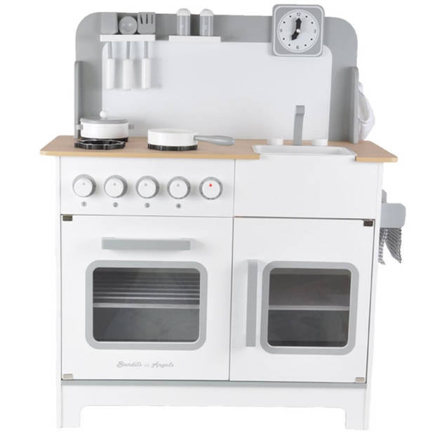 Bandits and Angels - Kinderkeuken Chef Deluxe XL white