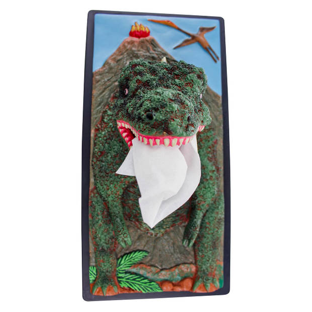 Rotary Hero T-Rex Tissue box Cover