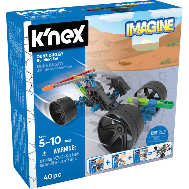 K'nex Building Sets - Dune Buggy Building Set