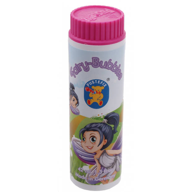 Pustefix bellenblaas Fairy Bubbles 42 ml roze #FB3
