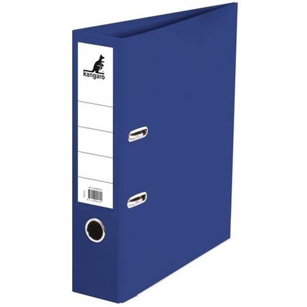 Ringband map/ordners donkerblauw 75 mm 2 gaats A4 - Documenten/papieren opbergen/bewaren - Kantoorartikelen
