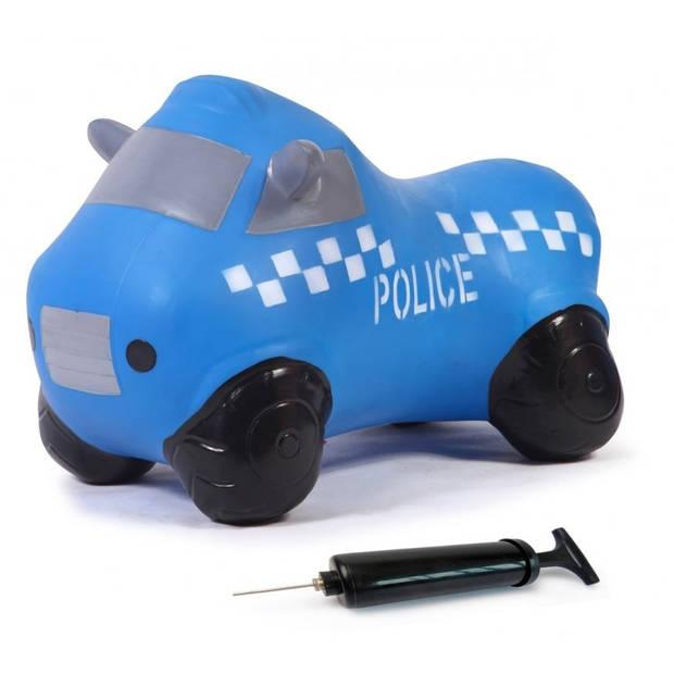 JAMARA skippybal politieauto 53 cm blauw