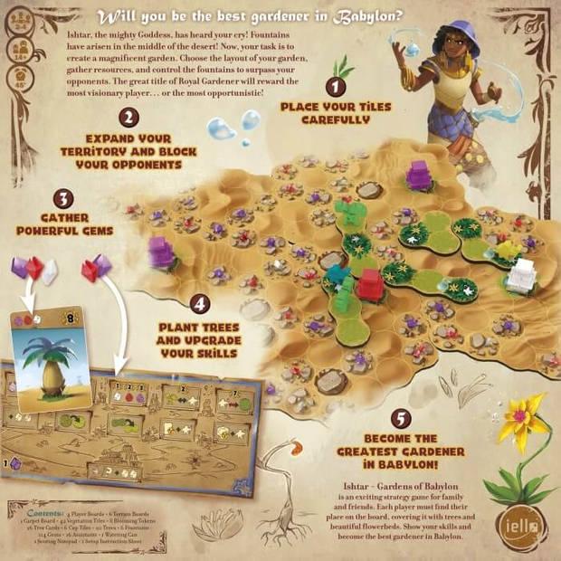 Iello bordspel Ishtar Gardens of Babylon (en)