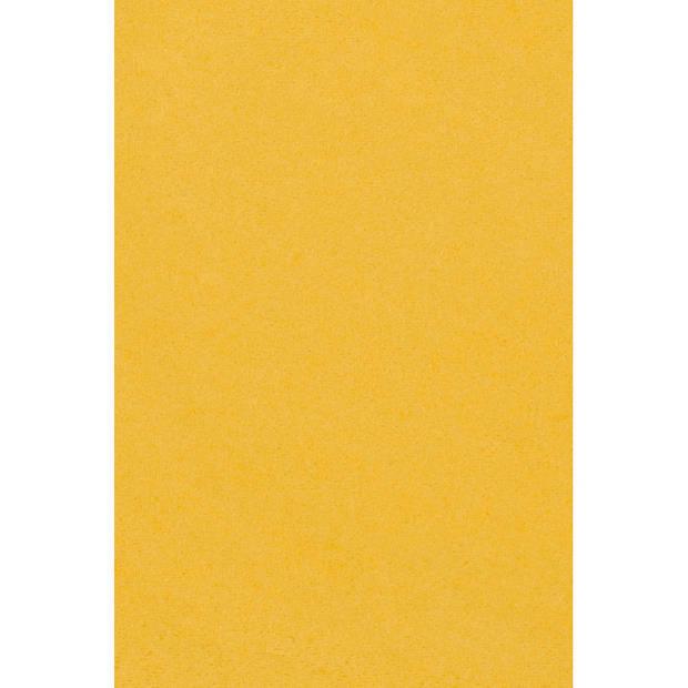 Amscan tafelkleed geel 137 x 274 cm