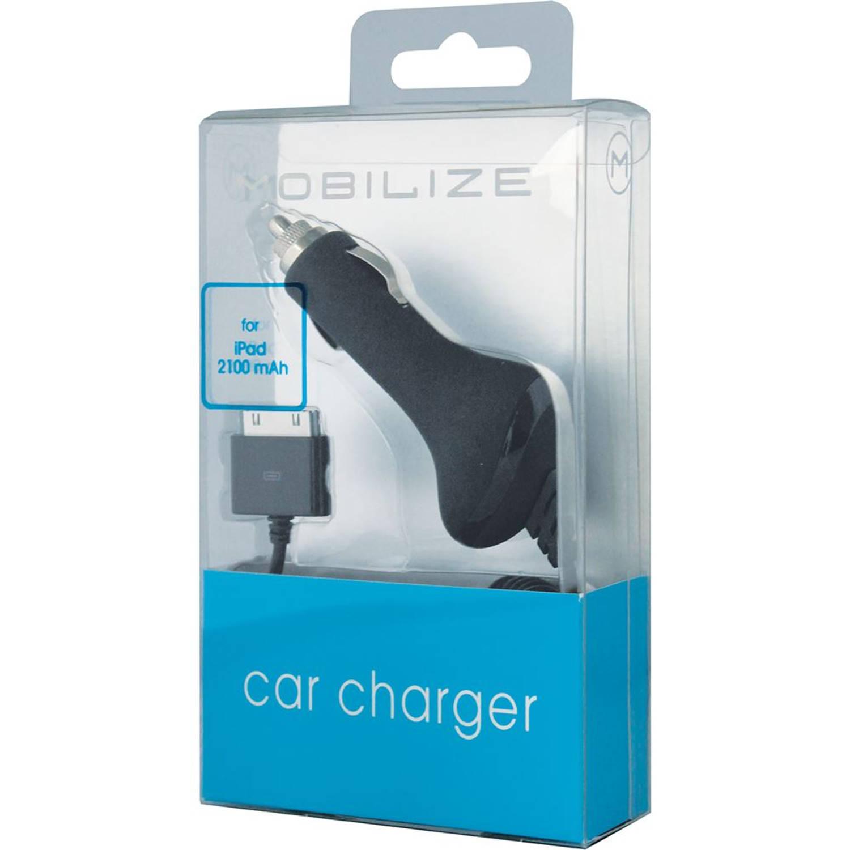 Mobilize Premium Car Charger Apple iPad Black 2100 mAh