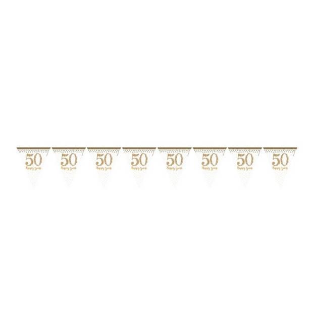 Amscan vlaggenlijn 50 jaar goud 396 cm