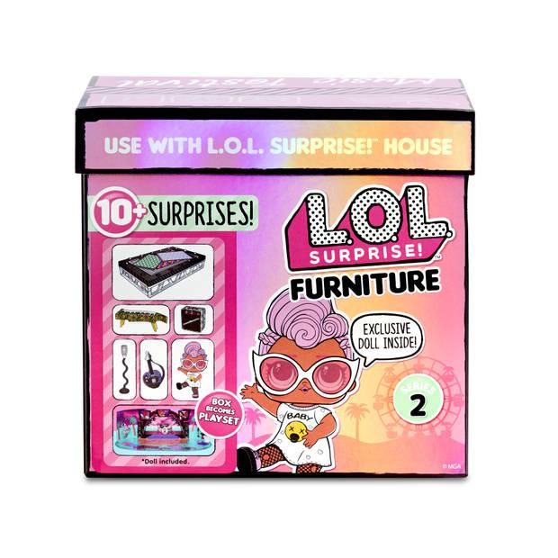 L.O.L. Surprise Furniture- Music Festival with Grunge Grrrl