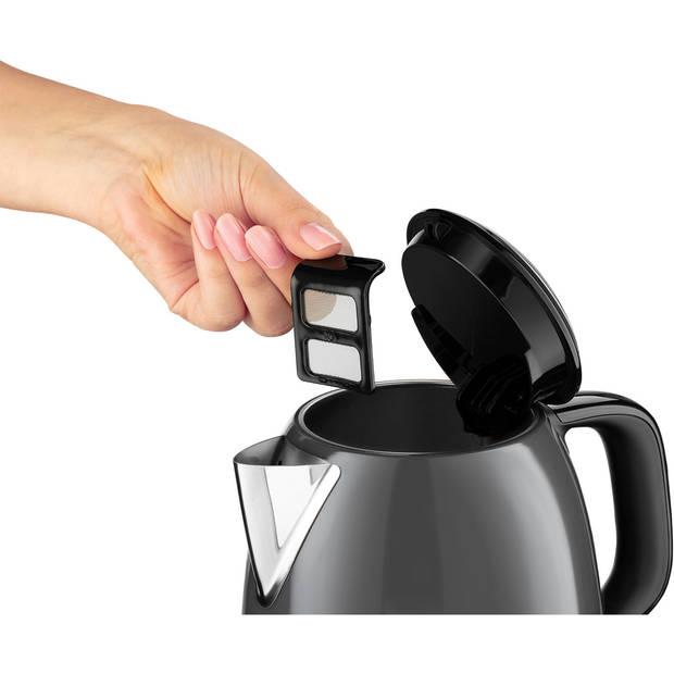 Colours Plus+ Storm Grey mini kettle