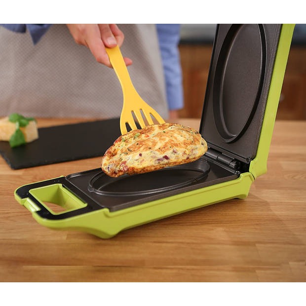 Cook It Multigrill Express Cooker - Met draaifunctie - Contactgrill - Groen