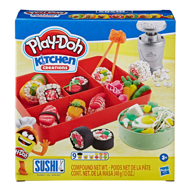Play-Doh Sushi speelset