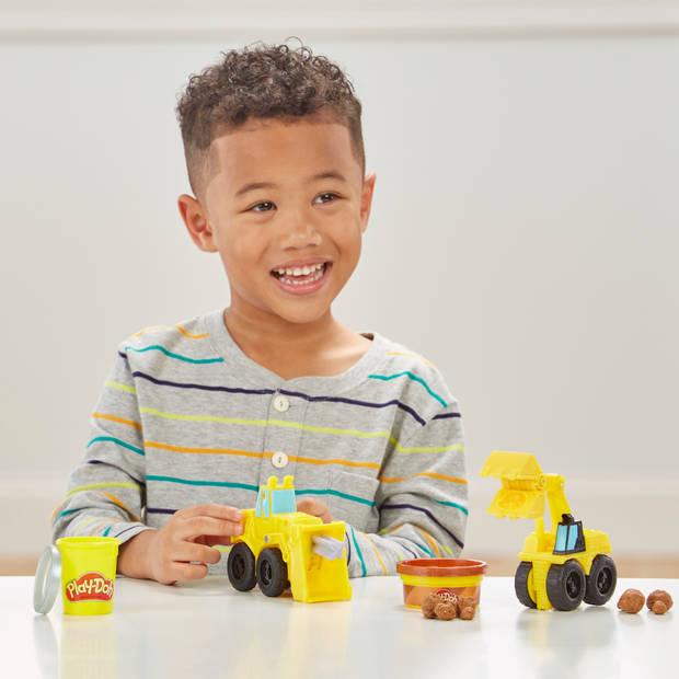Play-Doh Wheels graafmachine en bulldozer