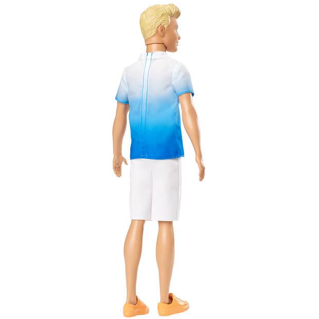Ken Fashionistas pop - Blauw shirt