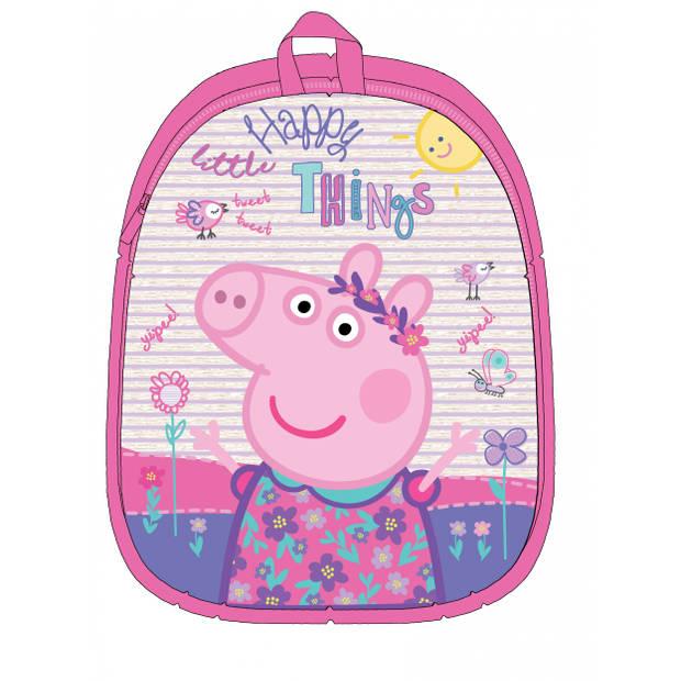Nickelodeon pluchen rugzak Peppa Pig roze 32 cm