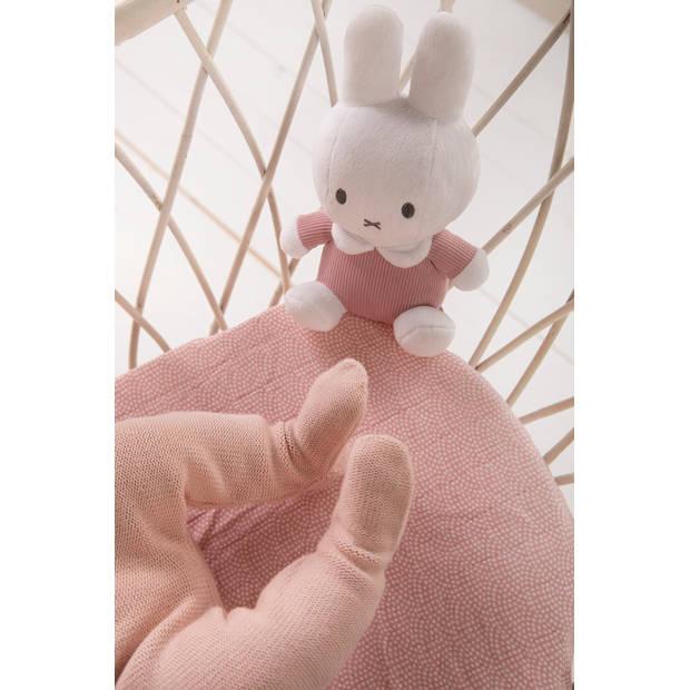 Nijntje pink rib knuffel 20 cm