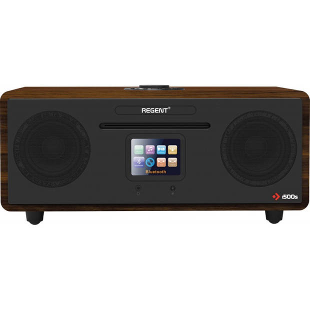 Ferguson i500s - DAB+ - Internet - Bluetooth - FM Radio - 2.1 Stereo basreflexsystem - 120 Watt - Zwart