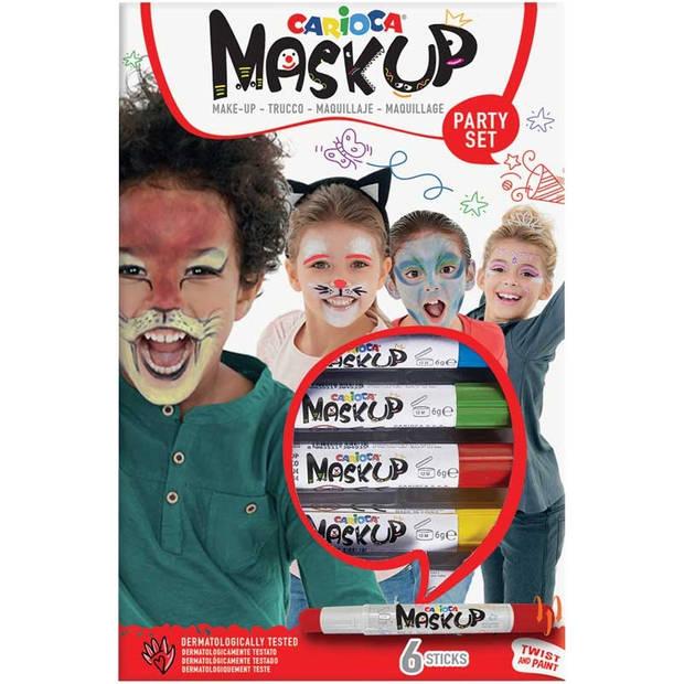 Carioca schminkstiften Mask up partyset