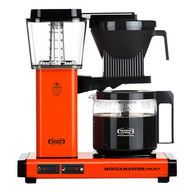 Filterkoffiemachine KBG Select, Orange – Moccamaster