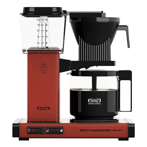 Filterkoffiemachine KBG Select, Brick Red – Moccamaster