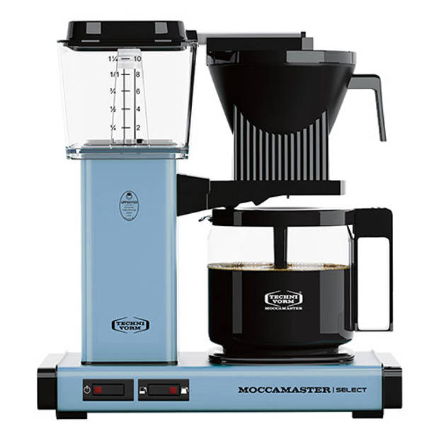 Filterkoffiemachine KBG Select, Pastel Blue – Moccamaster