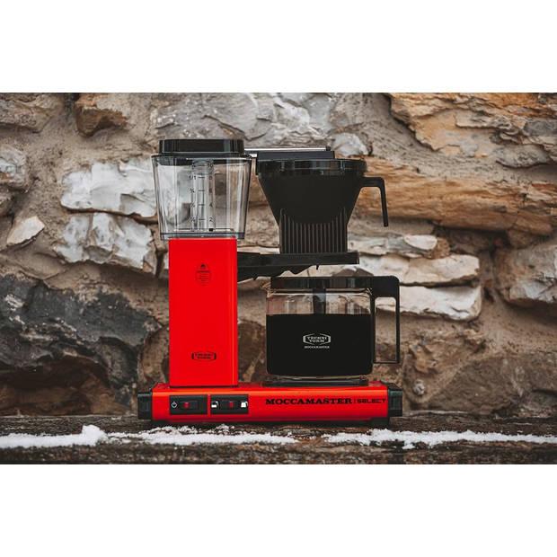 Moccamaster filterkoffiezetapparaat KBG Select - rood