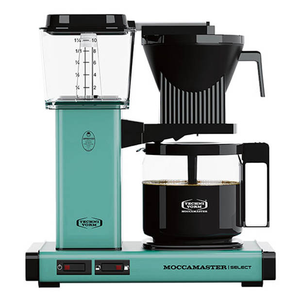 Filterkoffiemachine KBG Select, Turquoise – Moccamaster