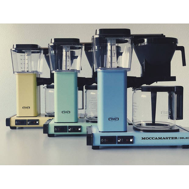 Filterkoffiemachine KBG Select, Pastel Yellow – Moccamaster