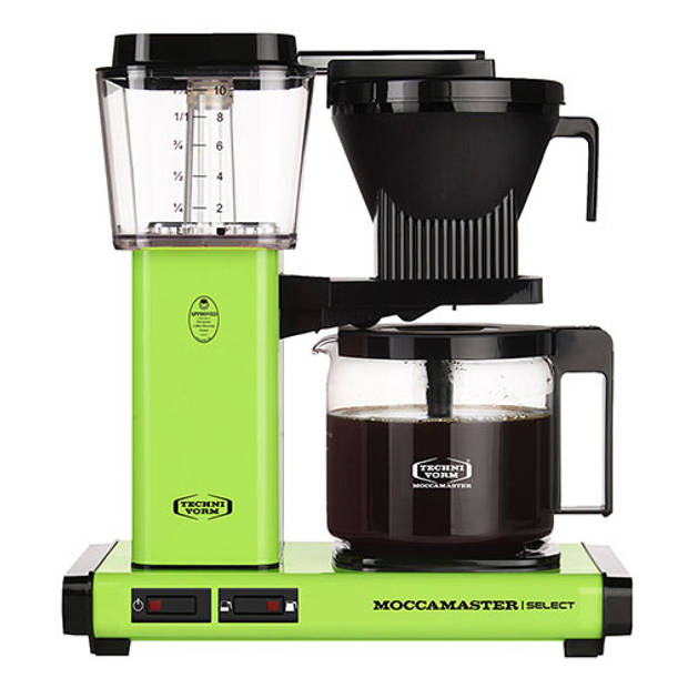 Filterkoffiemachine KBG Select, Fresh Green – Moccamaster