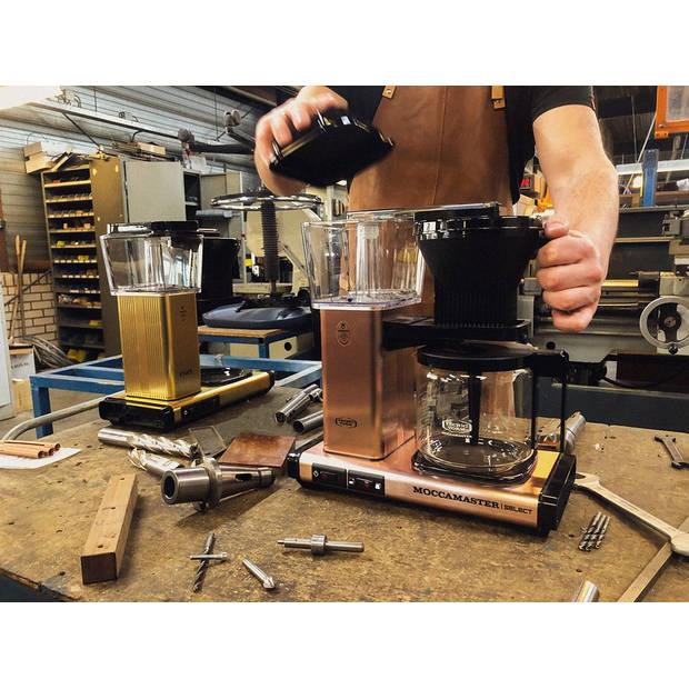 Filterkoffiemachine KBG Select, Matt Silver – Moccamaster