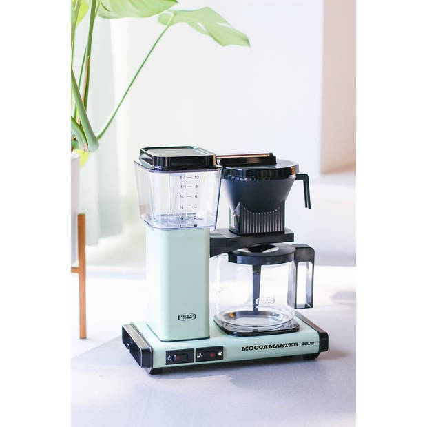 Filterkoffiemachine KBG Select, Stone Grey – Moccamaster