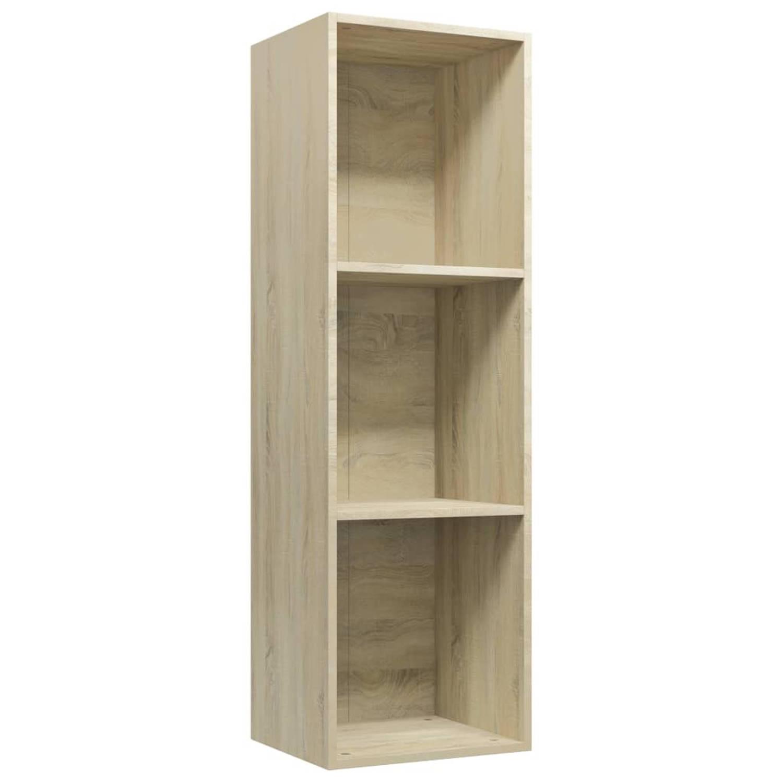 VidaXL Boekenkast/tv-meubel 36x30x114 Cm Spaanplaat Sonoma Eikenkleur online kopen