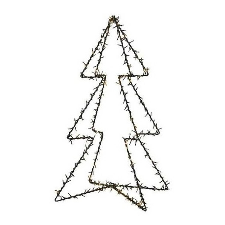 Verlichte figuren kerstboom 98 cm voor buiten Kerstversiering-kerstdecoratie kerstverlichting