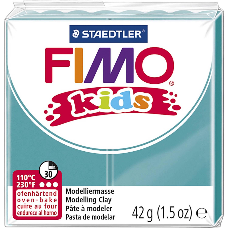 Korting Staedtler Fimo Kids Boetseerklei 42 Gram Turquoise