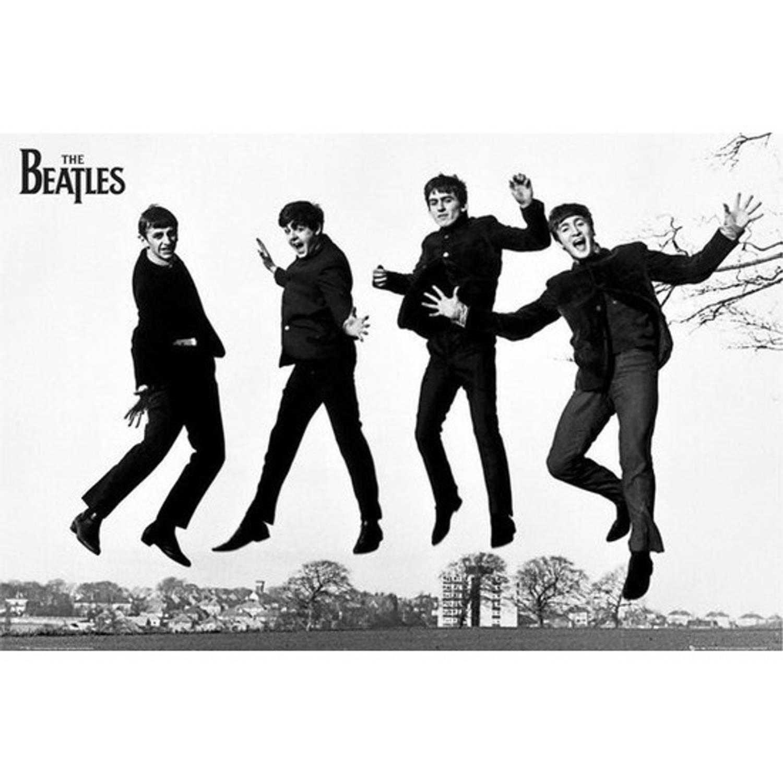 Poster The Beatles Muziekposter 61 X 92 Cm - Muziek Thema Posters - Wanddecoratie/muurdecoratie Post